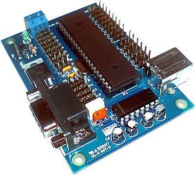 Controladora mixta JVM-Servo 28 USB/RS232