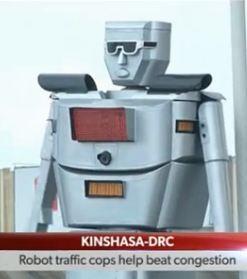 robot trafico
